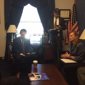 Northwest Chamber Alliance representatives meet with U.S. Representative Jason Crow