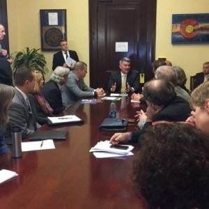 Northwest Chamber Alliance representatives meet with U.S. Senator Cory Gardner