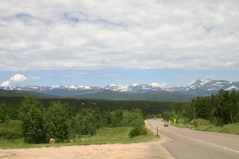 View of front range from 119CITE WIKI