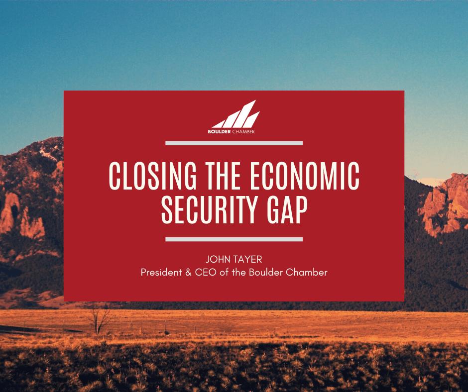 closing the economic security gap