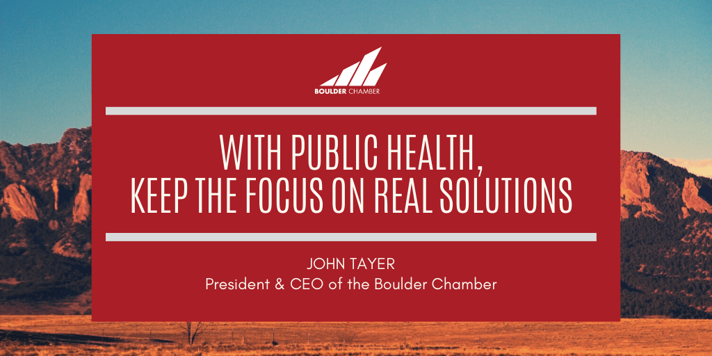 With public health, keep the focus on real solutions