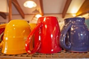 coffee cups - Boulder Coffee Cafe, Pagosa Springs, Colorado