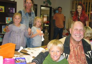 BCA Board visiting Boulder Elementary.