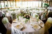 Apple Wedding Reception