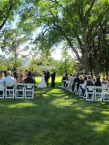 June Wedding Ceremony