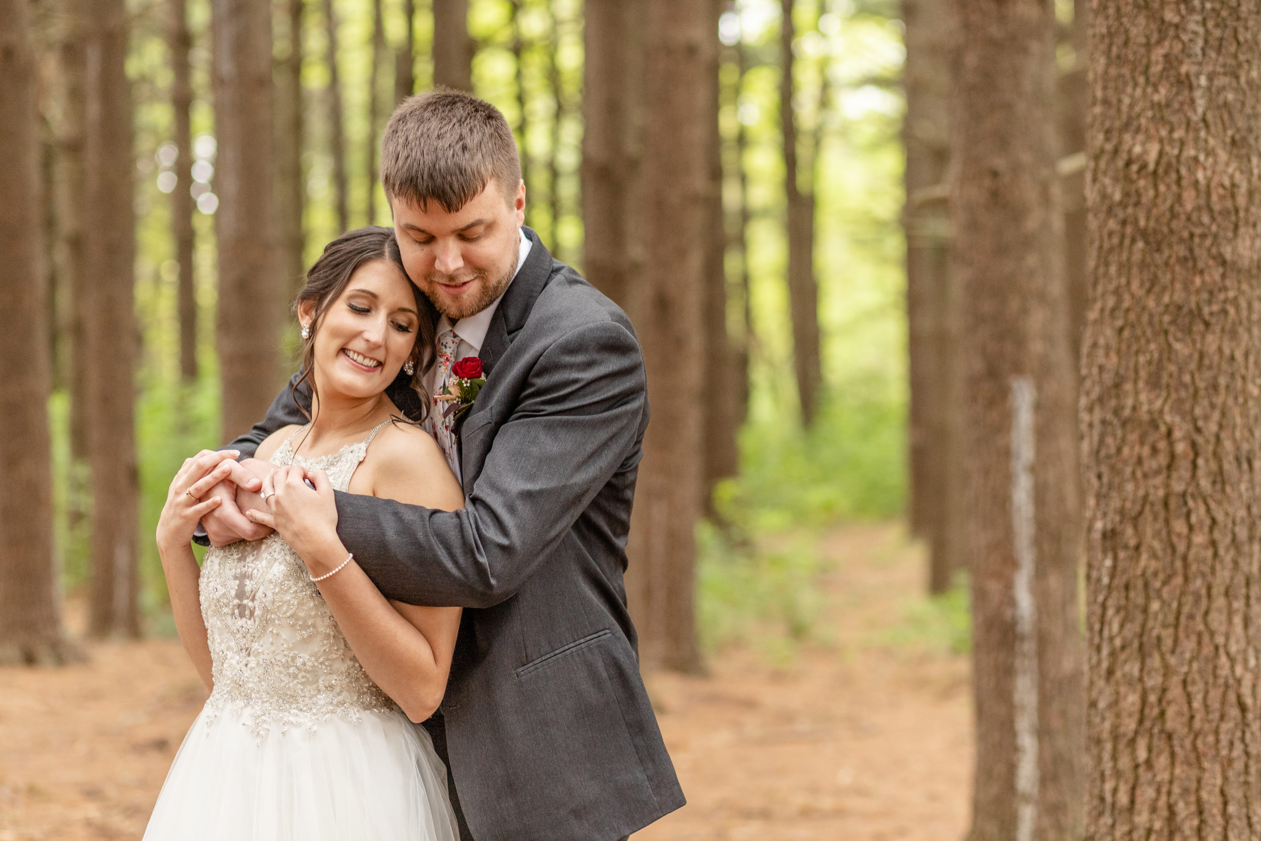 bride and groom, southern illinois photography