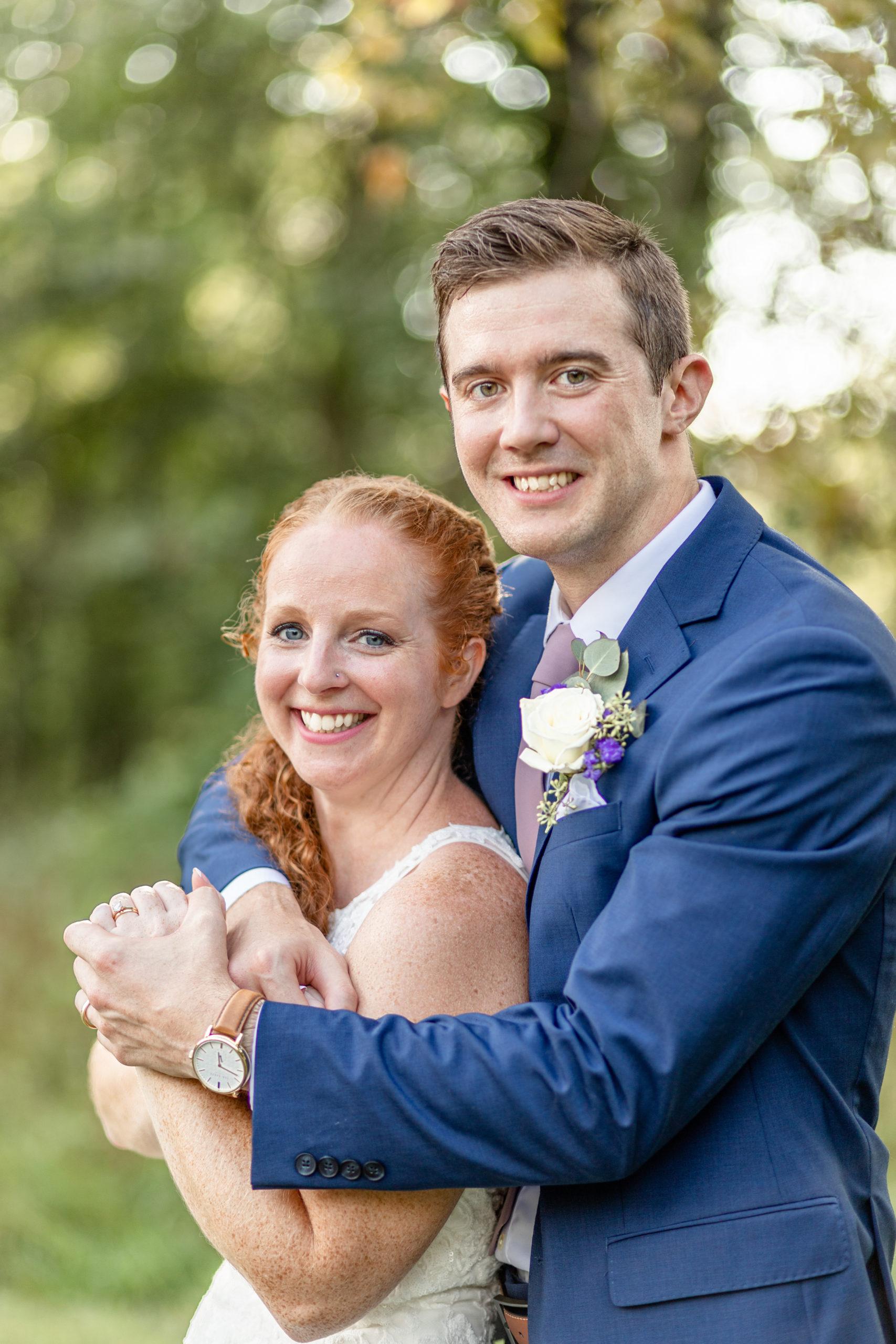 wedding photography, summer romance wedding, purple wedding accents, southern illinois wedding photography, woodland romance, lakeside wedding, purple and blue wedding