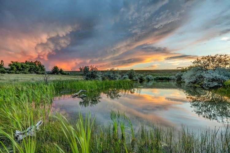Westminster Colorado Sunset