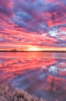Waneka Lake Sunrise