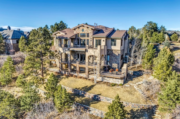 castle pines colorado real estate photographer