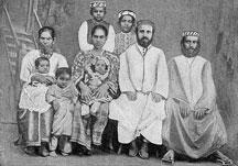 Cochin Jews circa 1900