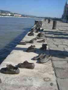 The Holocaust Shoe Memorial