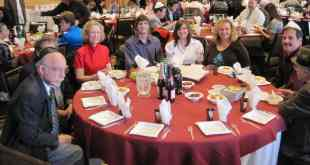 Seder at Chabad of NW Metro Denver in 2010 - (Photo taken before the holiday)