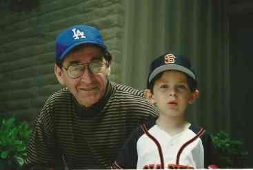 Mica & Grandpa baseball hats