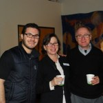 Jonathan Lev, BJCC Executive Director, Cathy Summer of Boulder Jewish Family Service, author Steve Ellis