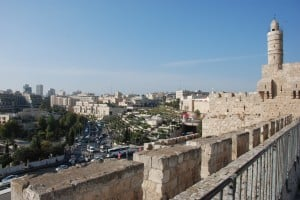 Jerusalem from the Rampart