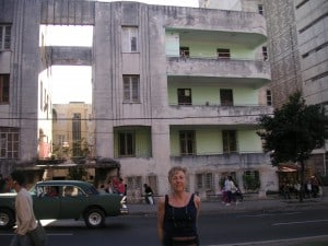 The Bernheimer apartment in Havana today