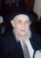 "Rabbi Gershon Chanowitz, z""l"