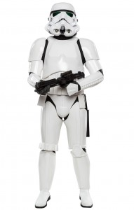 The Star Wars Stormtrooper character will also make a guest appearance!
