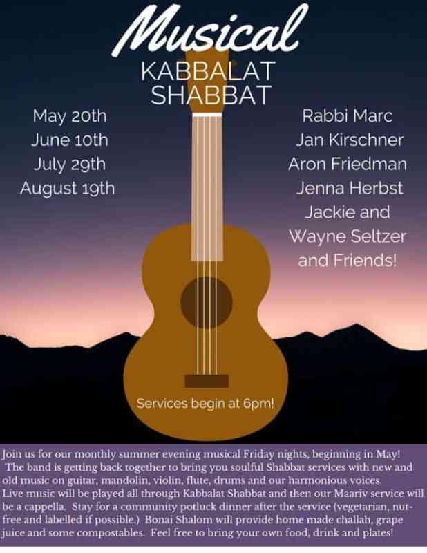Musical Kabbalat Shabbat