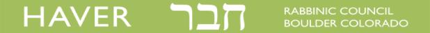 Haver logo with link to register: http://www.boulderhaver.org/index.php?id=21&page=Ikar_Registration