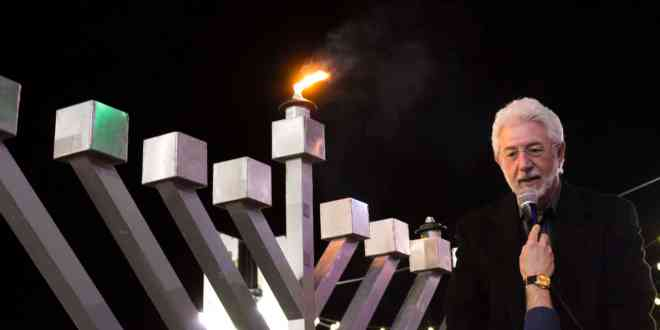 Boulder County's Largest Menorah to Light Up Pearl St. Mall for Night 2