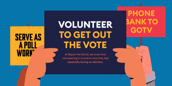 Repair the World Initiative to Help Ensure Every Eligible Voter Can Safely Cast Their Ballot