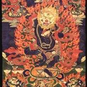 SIMHAMUKHA Wrathful Lion-Headed Dakini