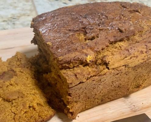 chai pumpkin bread