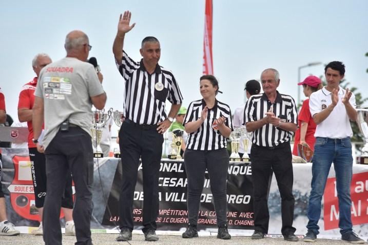 Corps arbitral, Finale du National, Concours 2018