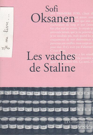 livre sur la boulimie les vaches de Staline
