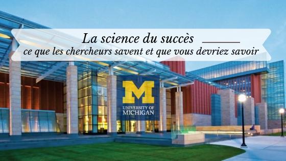 science du succès coursera résumé en français