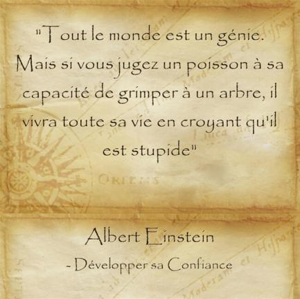 Citation donner confiance encourager