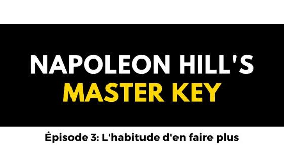 #3 napoleon hill's master key