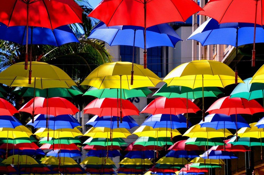 parapluie ne pas se laisser affecter par la negativite