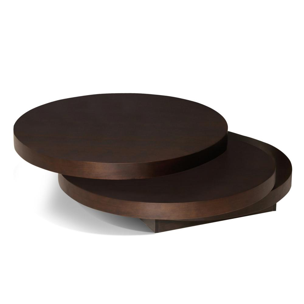 torno coffee table dark brown