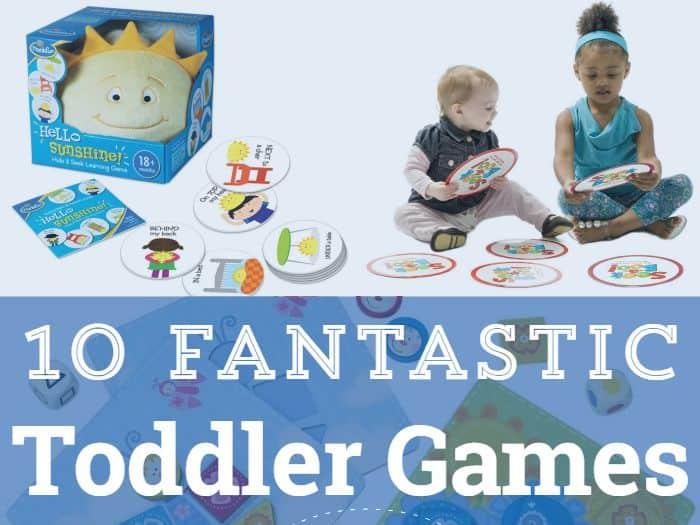 10 Fantastic Toddler Board Games