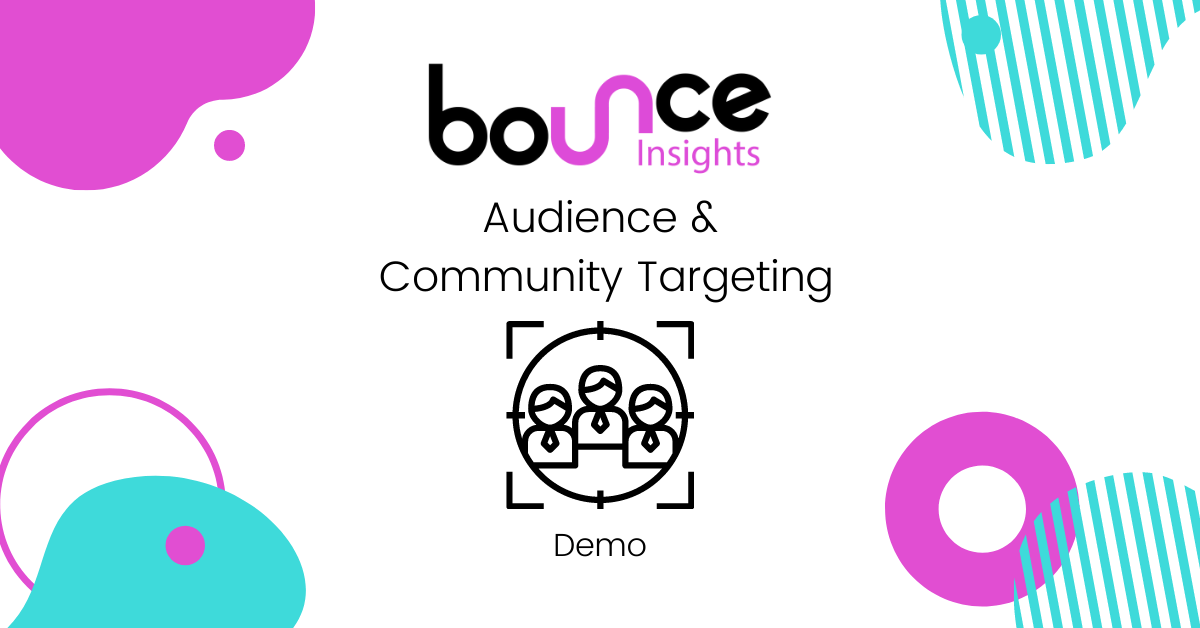 Bounce Insights Audience Community Targetting Cover Image