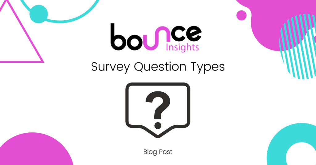 Bounce Insights Survey Question Types Cover Image