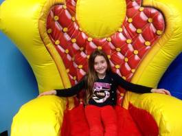 Birthday Child gets TWO FREE gifts! A Bounce It Up T-shirt as well as a gift certificate for open play.