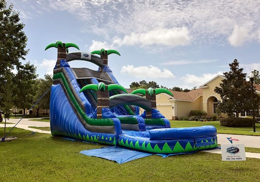 24 Hour rental water slide