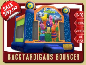 Backyardigans Bounce House Rental, Austin, Uniqua, Pablo, Tyrone, Tasha