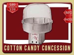 cotton candy concession party food rental rental daytona beach price