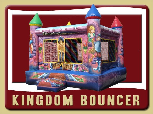 Kingdom Inflatable Bounce House Rental Bunnell