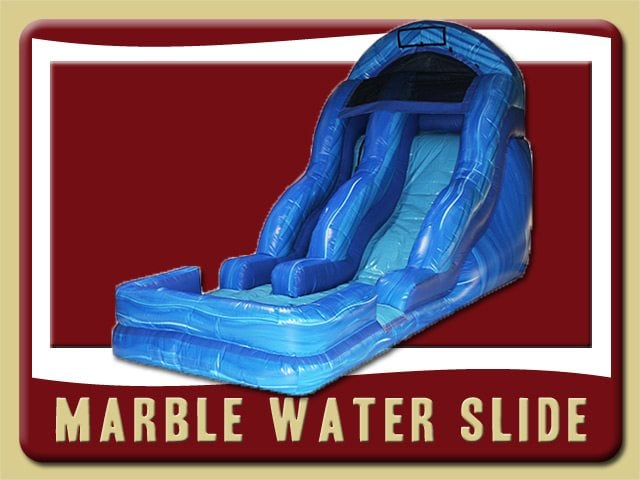 Marble Water Slide Pool Rental Flagler Beach