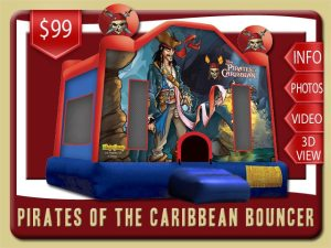 Pirates of the Caribbean Bounce House Rental,