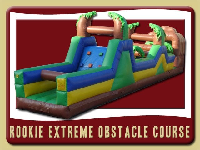 Rookie Obstacle Course Inflatable Party Rental Edgewater