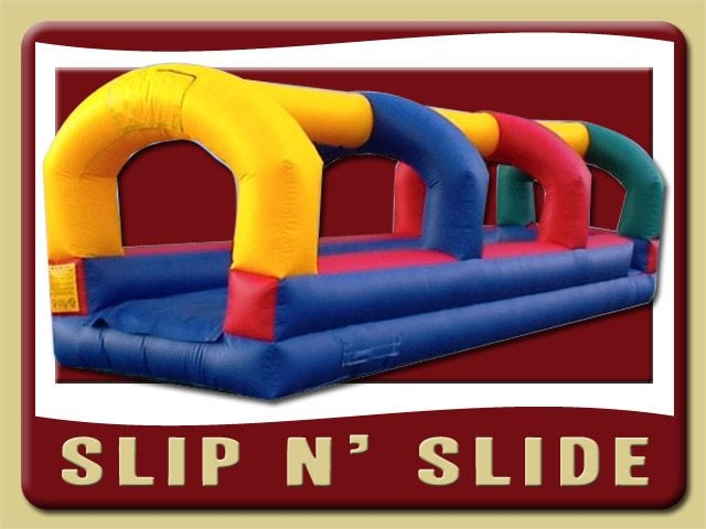 Slip and Slide Water Inflatable Party Rental Debary
