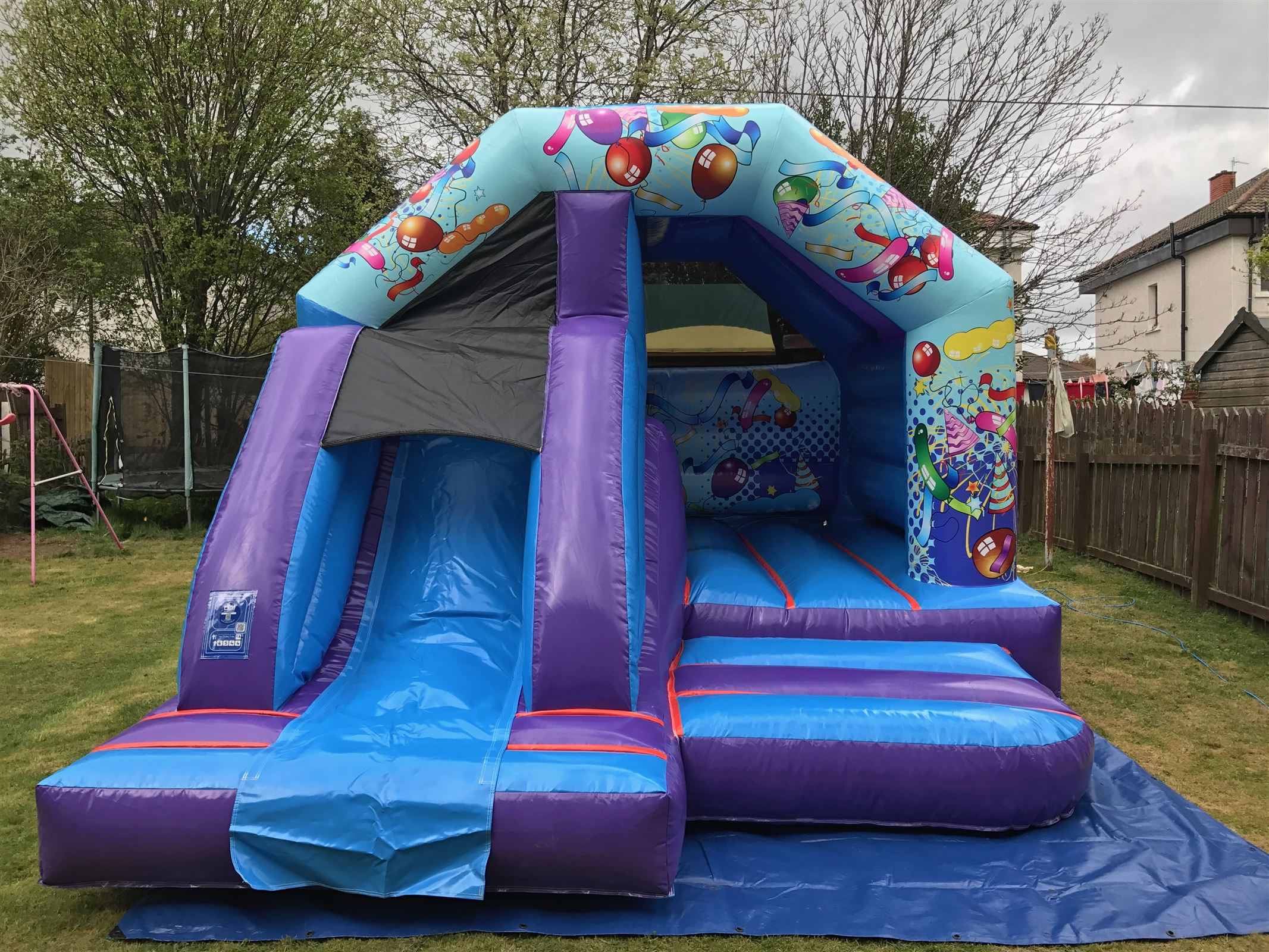 Party Themed Bouncy Castle Amp Soft Play Package