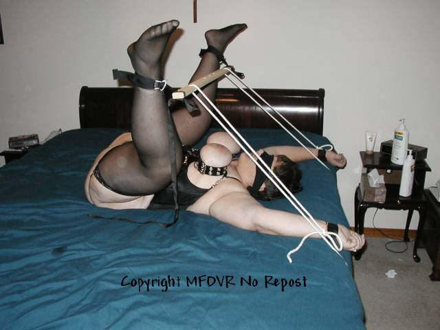 Easy bondage positions